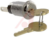Keyswitch; 0.760 in. L x 0.640 in. W; 120 VAC; 1 A; 1; SPST;Off-On;;Screw -- 70155918 - Image