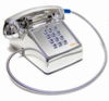 Asimitel 2500 CP-A32 All-Chrome Touch-Tone Desktop Telephone with Armored Cord - Image