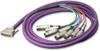 DB25 Breakout Cable -- DB25M02XLRMXLRFY - Image