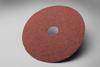 3M 381C Coated Aluminum Oxide Fibre Disc - Coarse Grade - 50 Grit - 5 in Diameter - 7/8 in Center Hole - 81375 -- 051144-81375 - Image