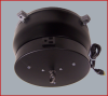 Ceiling Turners with Rotating Electrical Outlet -- CT 125E (8 Amp)