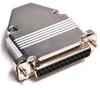25Pin Dsub Solder Connector Female W/Hood -- 409725FSH - Image