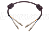 62.5/125, Fiber Cable with Grommets, Dual LC / Dual LC, 10.0m -- FODLCG-10