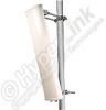 2.4/ 4.9-5.8 GHz Dual Feed Dual Band 90 Degree Sector Panel Antenna -- HG2458-14P-090