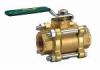 Lead Free* 3-Piece, Full Port, Ball Valve -- LFB6800, LFB6801 -- View Larger Image