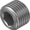 Blanking plug -- B-1/8-NPT -Image