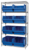 Bins & Systems - MAGNUM Bins (QMS Series) - Wire Shelving Units - WR5-543