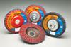 Norton Red Heat Flap Disc Quick Trim Type 27 -- 63642505279