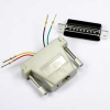 DB25 Male to RJ11 (4 wire) Modular Adapter -- 2720-SF-12