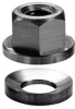 Stainless Steel Spherical Flange Nut Assembly: 5/8-11 Thread -- 41925