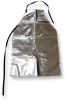 Chicago Protective Apparel Aluminized Rayon Welding & Heat-Resistant Apron - 24 in Width - 39 in Length - 539-AR -- 539-AR - Image