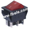 Double-poles Rocker Switch -- IRS-202-1A ON-ON - Image