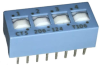 DIP Switches -- 206-124S-ND - Image