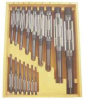 Adjustable Hand Reamer Set,HSS,16 Pcs -- 4LGU5