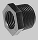 Reducer Bushing: Male Pipe Thread to Female Pipe Thread -- RB200112