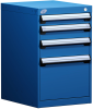 Stationary Compact Cabinet with Partitions -- L3ABG-2819L3 -Image