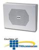 Valcom Vandal-Resistant 8 Inch One-Way Wall Speaker -- V-9852