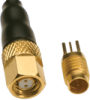 Micro Twinax NDL R/A Plug Threaded -- 014034-1020