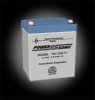 Powersonic PS-1250 F1 SLA 12V 5.0Ah Battery -- 0B-PS-1250F1