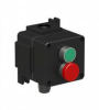 Ex De Double Green & Red Mushroom Pushbutton -- LCP181 - Image