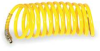 Coiled Air Hose,1/2 In ID x 25 Ft,Nylon -- 1VEJ5
