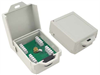 Outdoor DSL/Telephone/T1 Lightning Surge Protector - Punch Down Terminals -- AL-D4W-DP