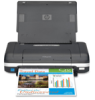 HP Officejet H470WBT Mobile Inkjet Printer -- CB028A#B1H