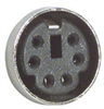 Economy Molded Cable, Mini DIN 6 Male/Female 25.0 ft -- CSMD6MF-25 -- View Larger Image