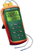 Dual Input 7 Thermocouple Thermometer -- EA15