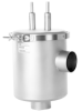 Angle Dual Tube Liquid Nitrogen Trap -- NW Flanged