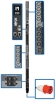 17.3kW 3-Phase Switched PDU, LX Platform Interface, 240V Outlets (24 C13/6 C19), Touchscreen LCD, IEC 309 30A Red 415V, 0U, TAA -- PDU3XEVSR6G30B