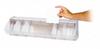 Bins & Systems - Clear Tip Out Bins (QTB Series) - Dividable Bins - QTB412