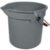 Brute® Bucket 14 Quarts - Gray -- RP2614-GRA - Image