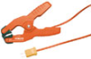 TP200 - K-Type pipe clamp temperature probe with spring-loaded jaw -- GO-95001-26