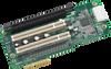 Circuit Module, Riser for ISMB,PCIex4+2 PCI+PCIex16 A101-2,RoHS -- AIMB-R43PF-21A1E