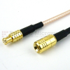 MCX Plug to SMB Plug Cable RG-316 Coax in 36 Inch -- FMC0716316-36 -Image