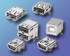 USB Connectors - Small Interface Connectors that conform to USB Standards -- XM7 Series -- View Larger Image