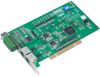 2-port AMONet RS-485 PCI Master Card -- PCI-1202U - Image
