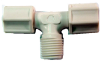Compression Male Adapter Tee -- CMT-3838-PG