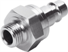 KS4-1/4-A-R Quick coupling plug -- 531677