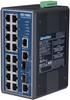 16+2G Combo Port Managed Ethernet Switch -- EKI-7656C - Image