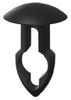 Nylon Key Hole Rivet Clip -- 3303 - Image