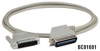 Dot-Matrix Printer (18-Conductor) Cable with Right-Angle Connector -- BC01602
