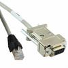 6 ImageWriter Cable Pack of 3 pcs Black Box EVMA08-0006 8-Pin