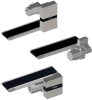 Guided Flat Belt Conveyors - Motor Mounting Position Selectable Guided Belt to Prevent Lateral Movement, End Drive, 2-Groove Frame -- CVMB Series - Image
