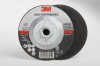 3M COW Ceramic Cutoff Wheel - Type 27 (Depressed Center) - 60 Grit Medium Grade - 4 1/2 in Diameter - Thickness 0.09 in - 66575 -- 051115-66575
