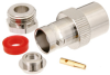 BNC Female (Jack) Connector for RG58, RG55, RG141, RG142, RG223, RG400, RG303, LMR-195 Cable, Clamp/Solder