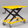 RELIUS SOLUTIONS Mechanical Mobile Scissor Lift Table -- 7143200