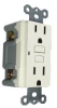 GFCI RECEPTACLE 15 AMP WHITE -- 602674