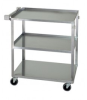 Wire Shelving - Carts - Stainless Steel Carts - SSC2716-32-3L - Image